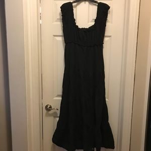 Dresses & Skirts - Extra Large Black Peasant Dress